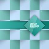 Vectorkleurenvierkanten. Abstracte achtergrond Royalty-vrije Stock Fotografie