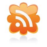 Vectorknoop RSS Vector Illustratie