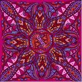 Vectorkunst van koninklijk helder naadloos patroon voor kaart Royalty-vrije Stock Fotografie