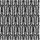 Vectorkunst van Naadloos geometrisch patroon Royalty-vrije Stock Afbeelding