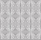 Vectorkunst van Naadloos geometrisch patroon Stock Afbeelding