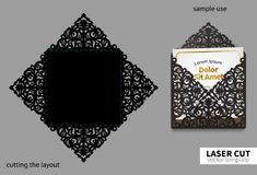 Vectorlaserknipsel Royalty-vrije Stock Afbeeldingen