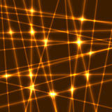 Vectorlaserstralen Stock Afbeelding