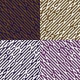 Vectorlijn geometrische achtergrond Arabisch behang Art decostijl voor druk op stof Royalty-vrije Stock Foto