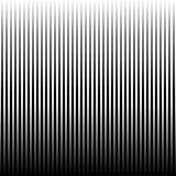 Vectorlijnen naadloze horizontaal herhaalt patroon Zwart-witte achtergrond Stock Foto