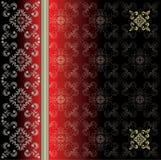 Vectorluxuriwijnoogst met decoratieve ornamenten eps10 Royalty-vrije Stock Afbeelding