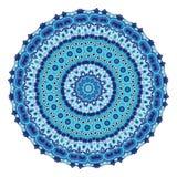 Vectormalplaatje met mandala Geometrische Achtergrond Kaart of uitnodigingsinzameling Islam, Arabisch, Indiër, ottomanemotieven Royalty-vrije Stock Foto's