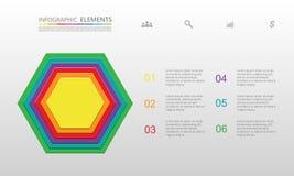 Vectormalplaatje voor infographics Royalty-vrije Stock Fotografie