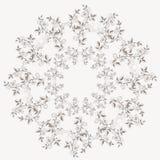 Vectormalplaatje voor omslag, adreskaartje en royalty-vrije illustratie