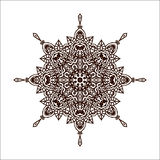 Vectormandala Royalty-vrije Stock Afbeelding