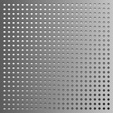 Vectormetaalachtergrond, grijs gradiënt gestippeld patroon Stock Foto's