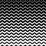 Vectormonochomeklomp, vlotte zigzaglijnen Stock Afbeelding