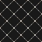 Vectornet naadloos patroon Abstracte geometrische textuur met vierkant rooster Stock Afbeeldingen