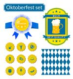 Vectoroktoberfest icons set Stock Photo