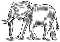 Vectorolifant royalty-vrije illustratie