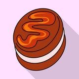 Vectorontwerp van banketbakkerij en culinair embleem Inzameling van banketbakkerij en kleurrijk vectorpictogram voor voorraad vector illustratie