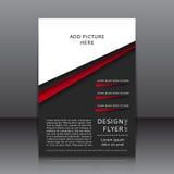 Vectorontwerp van de vlieger Stock Foto's
