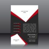 Vectorontwerp van de vlieger Stock Afbeelding