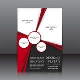Vectorontwerp van de vlieger Royalty-vrije Stock Foto