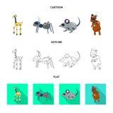 Vectorontwerp van stuk speelgoed en wetenschapspictogram Inzameling van stuk speelgoed en stuk speelgoed vectorpictogram voor voo stock illustratie