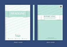 Vectorontwerp voor Dekkingsrapport, Brochure, Vlieger, Affiche in A4 grootte vector illustratie