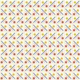 Vectorpatroon - kleurrijke naadloze geometrische achtergrond Royalty-vrije Stock Foto
