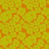 Vectorpatroon met bloemen Vector Illustratie