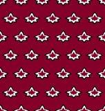 Vectorpatroon met geometrisch ornament royalty-vrije illustratie