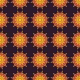 Vectorpatroon met ornament stock illustratie