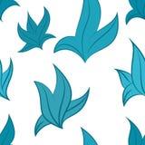 Vectorpatroon van bladeren Royalty-vrije Stock Afbeeldingen