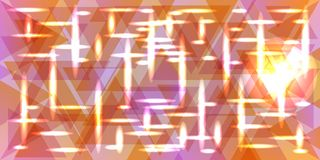 Vectorpatroon van metaal in de kleuren van de pastelkleurperzik vector illustratie
