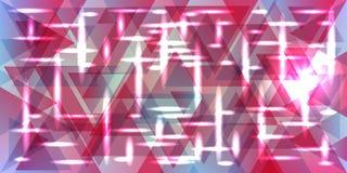 Vectorpatroon van metaal in pastelkleur roze kleuren stock illustratie