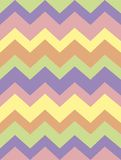 Vectorpatrooninzameling met zachte gekleurde strepen, zigzag Document, textuur, achtergrond vector illustratie