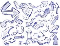 Vectorpijlen vector illustratie