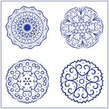 Vectorreeks Abstracte Heilige Meetkundesymbolen Stock Fotografie
