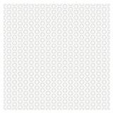 Vectorreeks Naadloos patroon met gestippelde cirkels die textuur St herhalen Stock Afbeeldingen