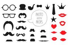 Vectorreeks steunen van de fotocabine royalty-vrije illustratie