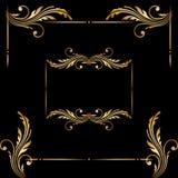 Vectorreeks uitstekende decoratieve elementen Royalty-vrije Stock Afbeelding