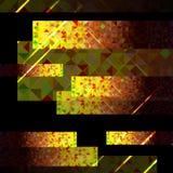 Vectorreeks van de achtergrond van driehoeken Royalty-vrije Stock Foto's