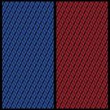 Vectorreeks van twee achtergronden voor de rug van speelkaarten stock illustratie