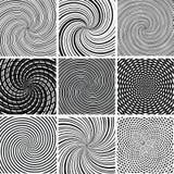 Vectorreeks van vectorachtergrond Stock Foto's