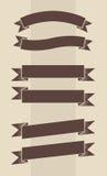 Vectorreeks wijnoogst gegraveerde banners Royalty-vrije Stock Afbeeldingen