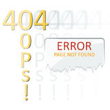 Vectors Abstract background 404 connection error stock illustration