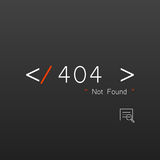 Vectors Abstract background 404 connection error Royalty Free Stock Images