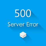 Vectors Abstract background 500 connection error server.  stock illustration
