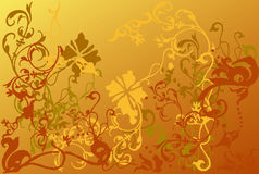 Vectors asia style backgrounds Royalty Free Stock Photo