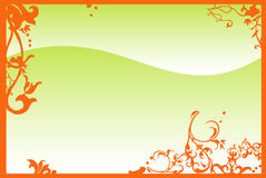 Vectors asia style Panel Royalty Free Stock Images