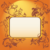 Vectors asia style Panel Royalty Free Stock Photo