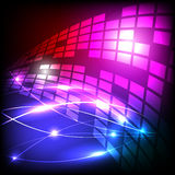 Vectors background abstract line light Royalty Free Stock Images