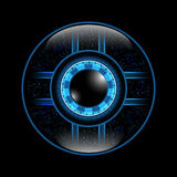 Vectors background abstract technology eye Royalty Free Stock Photo